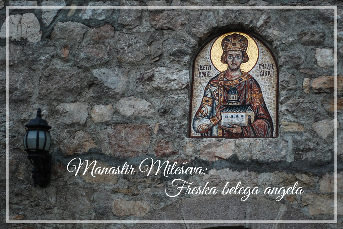 Manastir Mileševa: Freska belegaangela