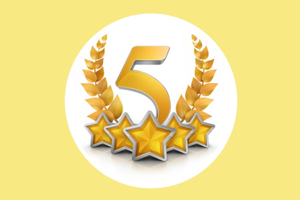 No. 5!