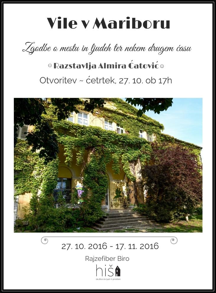 Plakat Vile v Mariboru