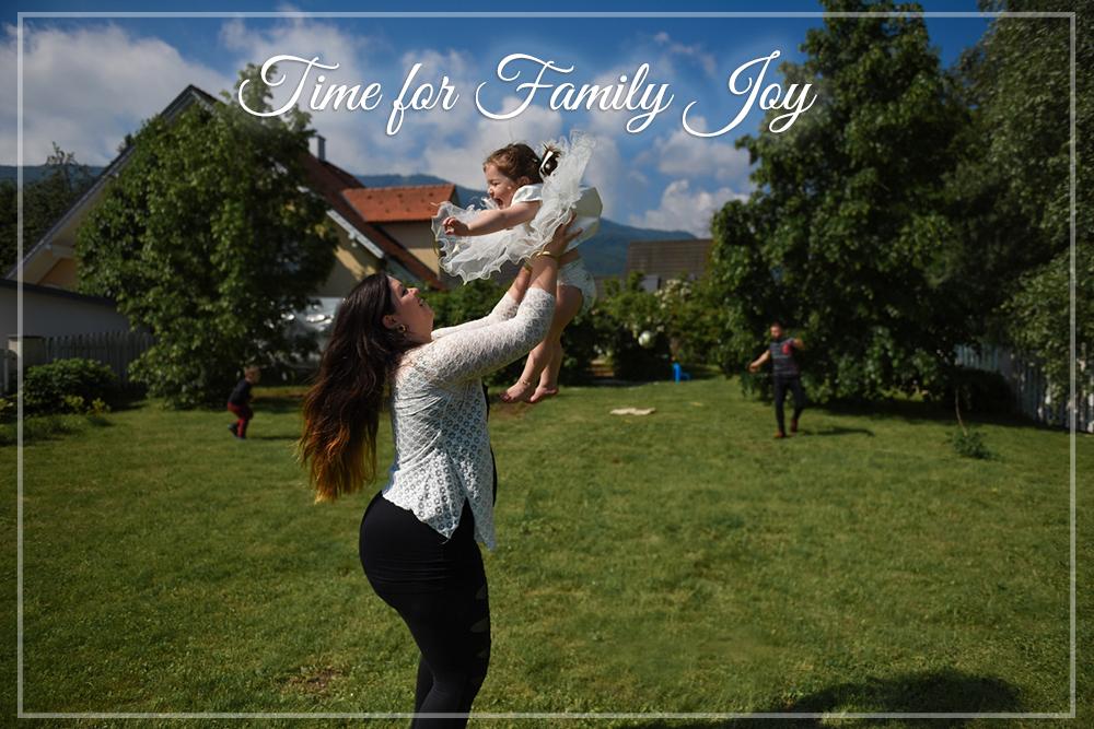 Ko pride čas za družinskoradost