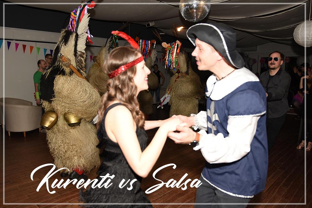 Kurenti vs. Salsa