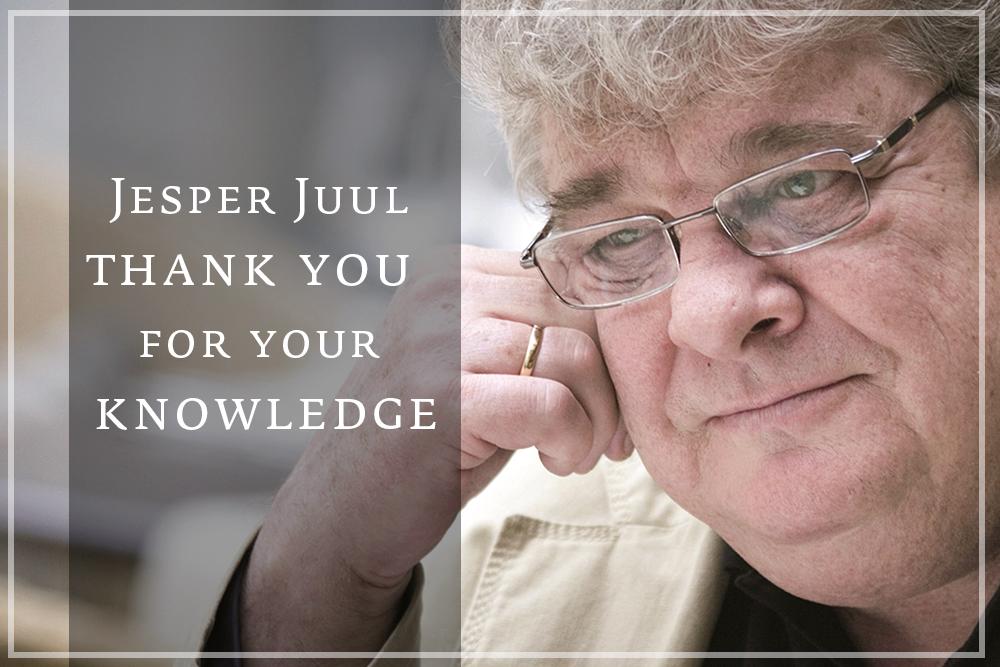 Jesper Juul, hvala za številnedarove