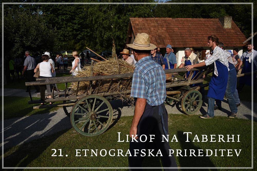 Življenje v duhu prejšnjega stoletja – 21. etnografska prireditev  »Likof nataberhi«